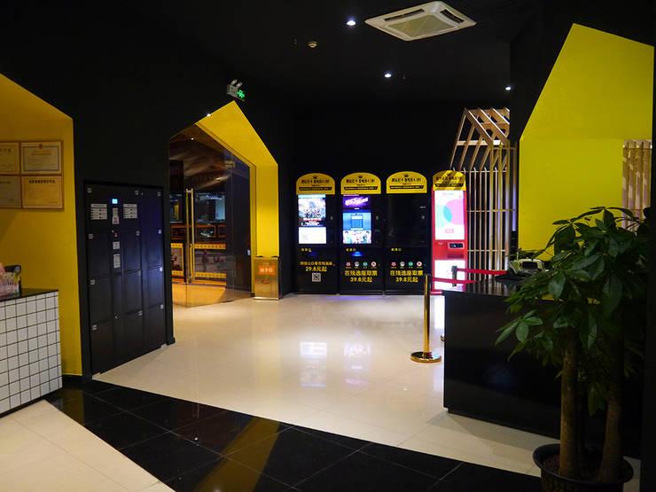 廣西賀州天立影院:   by G.T. DESIGN 大楨室內裝修有限公司