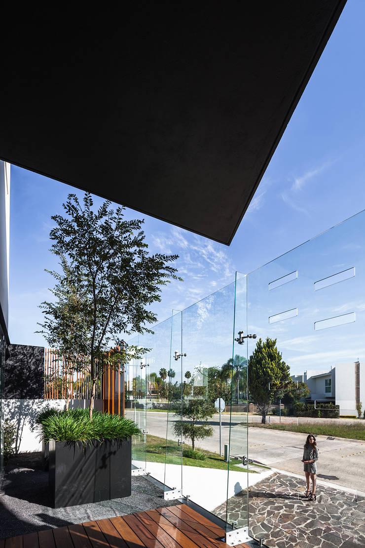 Jardin de style  par 21arquitectos,