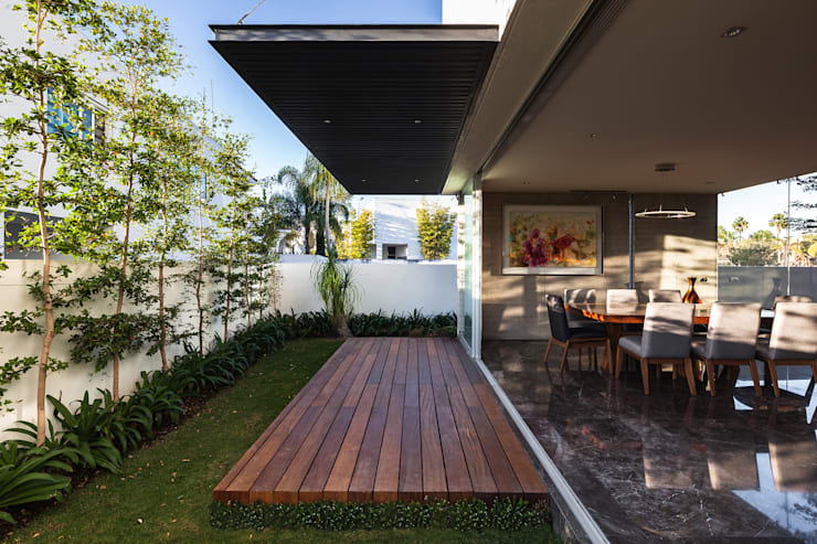 Terrasse de style  par 21arquitectos,