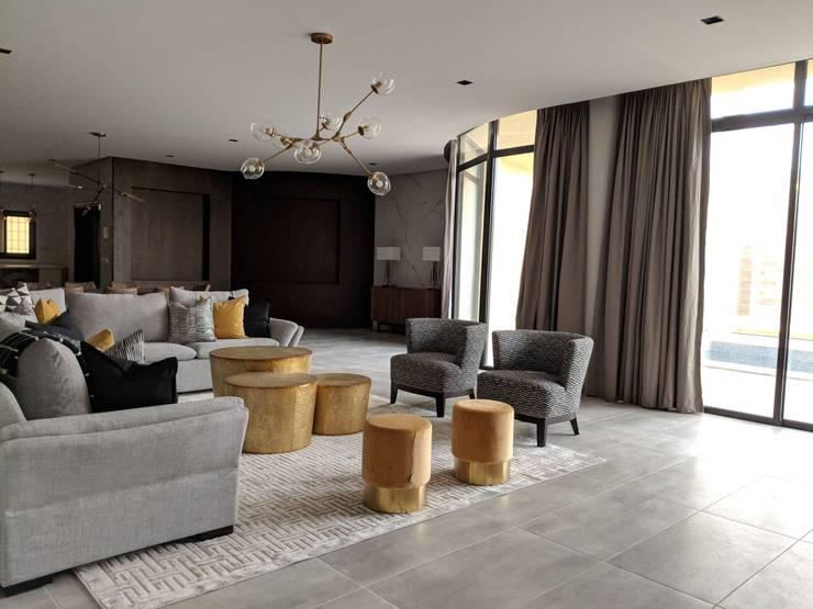 غرفة المعيشة تنفيذ FN Design