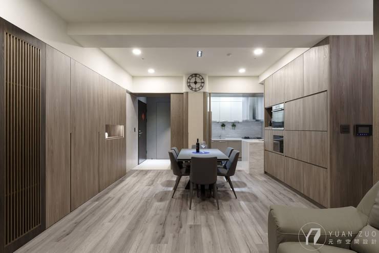 CHEN House:  餐廳 by 元作空間設計
