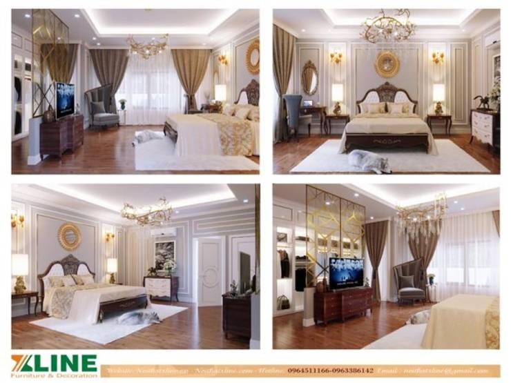 Phòng ngủ nhỏ by NỘI THẤT XLINE