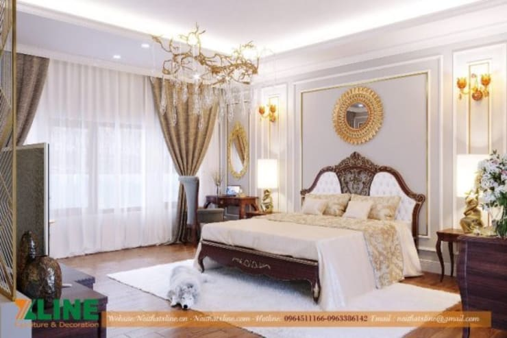 Phòng ngủ by NỘI THẤT XLINE