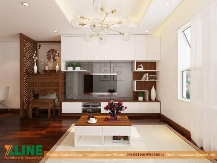 Phòng khách by NỘI THẤT XLINE