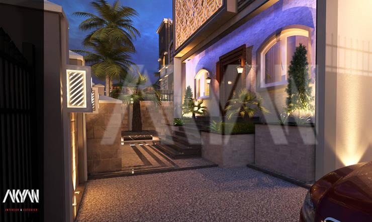 Projekty,  Ogród zaprojektowane przez AKYAN