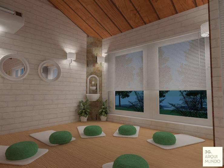 Sala de Meditacion:  de estilo  por Arquimundo 3g.