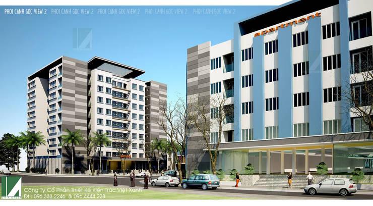 DỰ ÁN ĐÔ THỊ Ở - NHÀ Ở CÁN BỘ CÔNG NHÂN VIÊN Z189 HẢI PHÒNG :   by công ty cổ phần Thiết kế Kiến trúc Việt Xanh