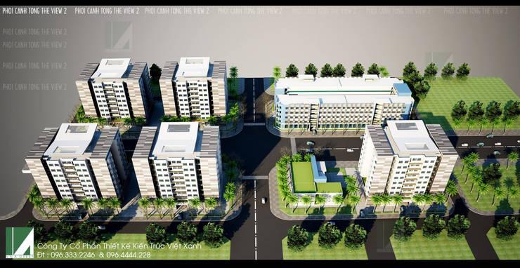 DỰ ÁN ĐÔ THỊ Ở – NHÀ Ở CÁN BỘ CÔNG NHÂN VIÊN Z189 HẢI PHÒNG :   by công ty cổ phần Thiết kế Kiến trúc Việt Xanh