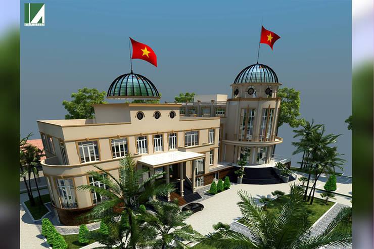 NHÀ KHÁCH - THANH PHỐ HẢI PHÒNG :   by công ty cổ phần Thiết kế Kiến trúc Việt Xanh