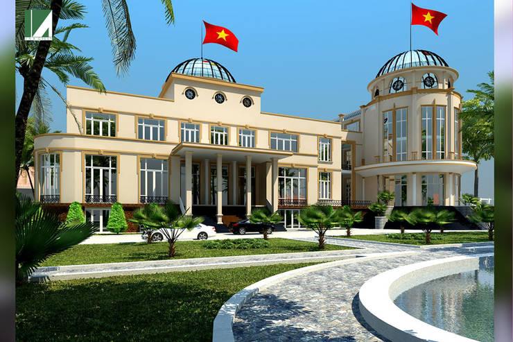 NHÀ KHÁCH – THANH PHỐ HẢI PHÒNG :   by công ty cổ phần Thiết kế Kiến trúc Việt Xanh