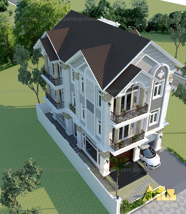 PHỐI CẢNH:  Nhà by AcilB Design