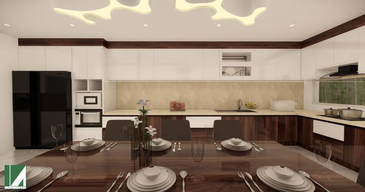 NHÀ PHỐ 3 TẦNG ( CẢI TẠO TỪ NHÀ HIỆN TRẠNG 2 TẦNG ) :   by công ty cổ phần Thiết kế Kiến trúc Việt Xanh