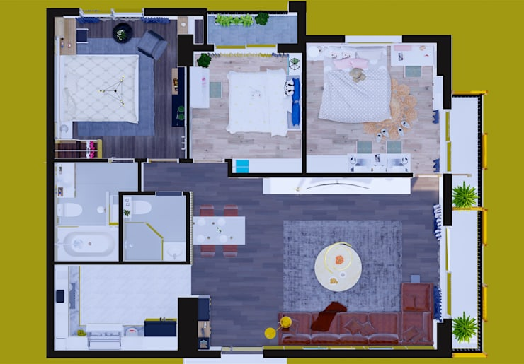 NỘI THẤT CHUNG CƯ SHP – LẠCH TRAY – HẢI PHÒNG:   by công ty cổ phần Thiết kế Kiến trúc Việt Xanh