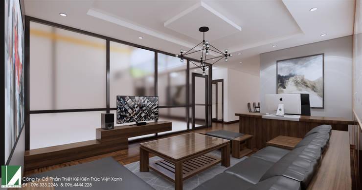 nội thất nhà 1 tầng nhỏ xinh :   by công ty cổ phần Thiết kế Kiến trúc Việt Xanh