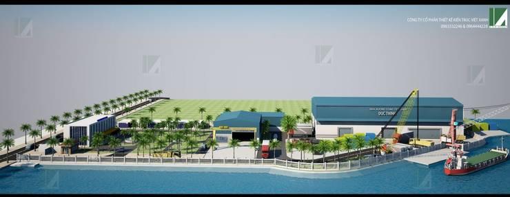 NHÀ XƯỞNG CÔNG NGHIỆP 4HA – HÙNG VƯƠNG – HẢI PHÒNG:   by công ty cổ phần Thiết kế Kiến trúc Việt Xanh