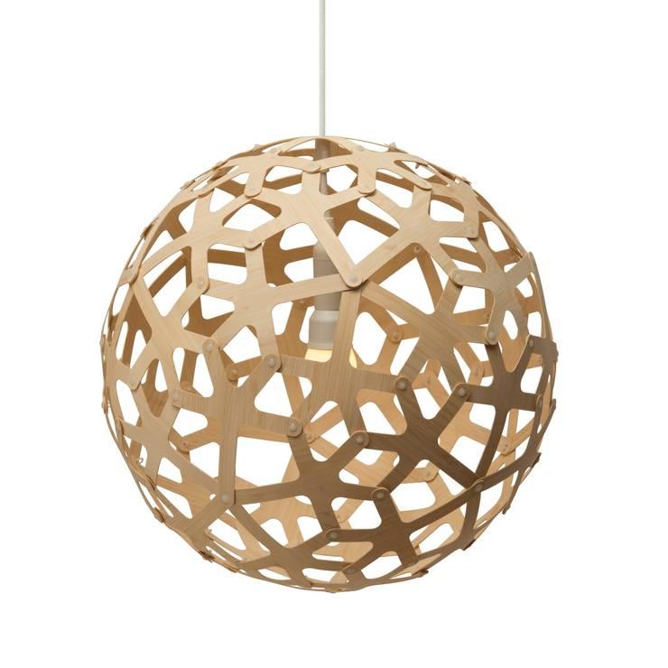 Hängeleuchte Coral Natur, David Trubridge: modern  von ANCHOVI,Modern Holz Holznachbildung