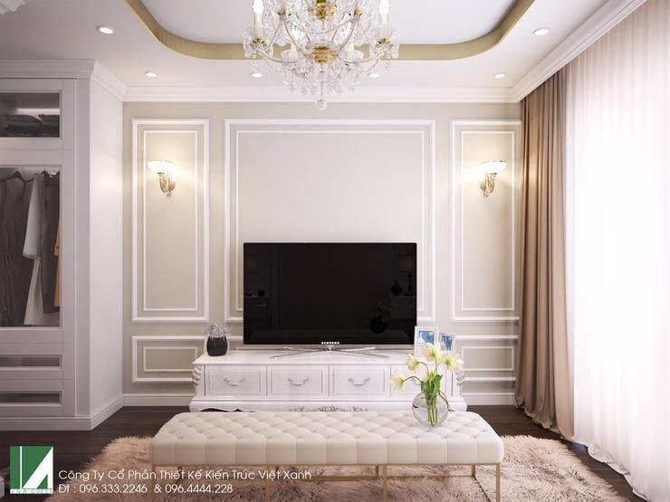 NHÀ PHỐ 6 TẦNG – MẶT TIỀN 5M X 20M:   by công ty cổ phần Thiết kế Kiến trúc Việt Xanh