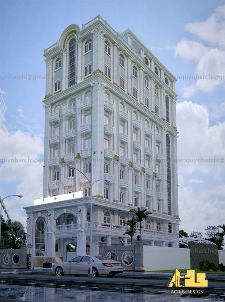 KARAOKE RESTAURANT – BAROQUE CLASSIC:  Nhà cho nhiều gia đình by AcilB Design