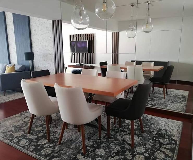 Alicia Ibáñez Interior Design:  tarz Yemek Odası
