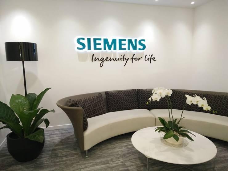 BOD Room PT. Siemens Indonesia:   by PT. PANCAR KREASI ABADI