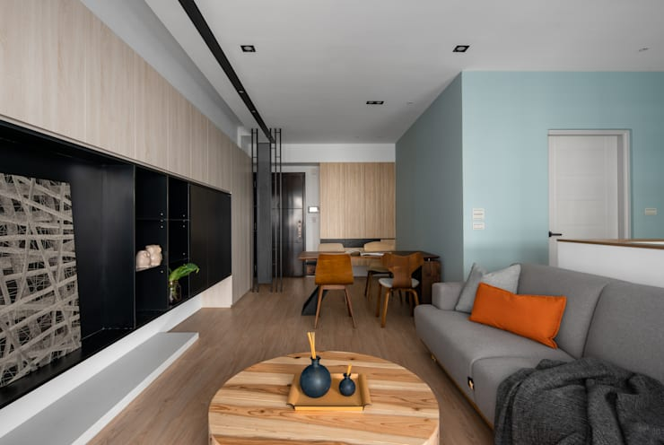 築川設計:  tarz Oturma Odası,