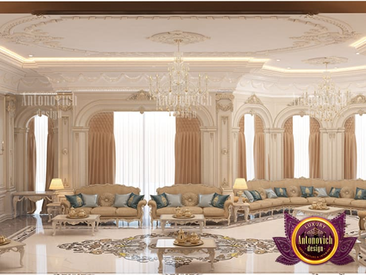 Superb Majlis Interior Design Ideas:   by Luxury Antonovich Design