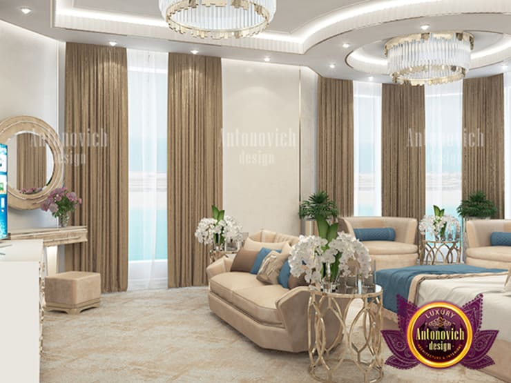 Excellent Children's Bedroom Design Dubai:   by Luxury Antonovich Design
