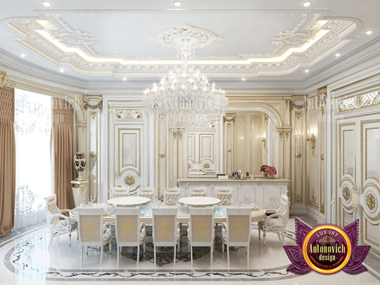 """Phenomenal Classic Dining Room Design: {:asian=>""""asian"""", :classic=>""""classic"""", :colonial=>""""colonial"""", :country=>""""country"""", :eclectic=>""""eclectic"""", :industrial=>""""industrial"""", :mediterranean=>""""mediterranean"""", :minimalist=>""""minimalist"""", :modern=>""""modern"""", :rustic=>""""rustic"""", :scandinavian=>""""scandinavian"""", :tropical=>""""tropical""""}  by Luxury Antonovich Design,"""