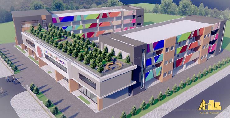 Edifícios comerciais  por AcilB Design