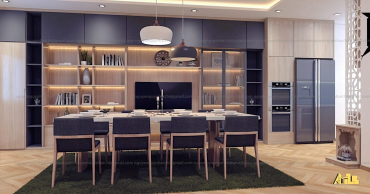 Dining room by AcilB Design