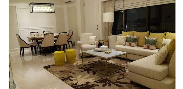 1 PARK AVENUE : Living room oleh PT Graha Vilato Kreasindo,