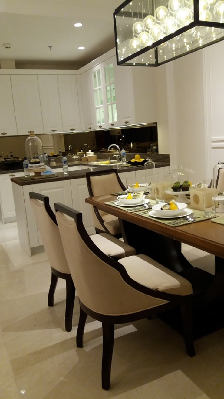 1 PARK AVENUE : Dining room oleh PT Graha Vilato Kreasindo,