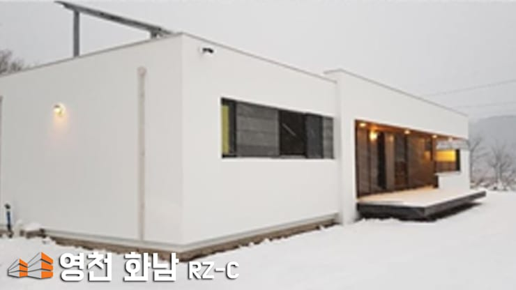 Rumah pedesaan oleh 주식회사 미트하임, Modern