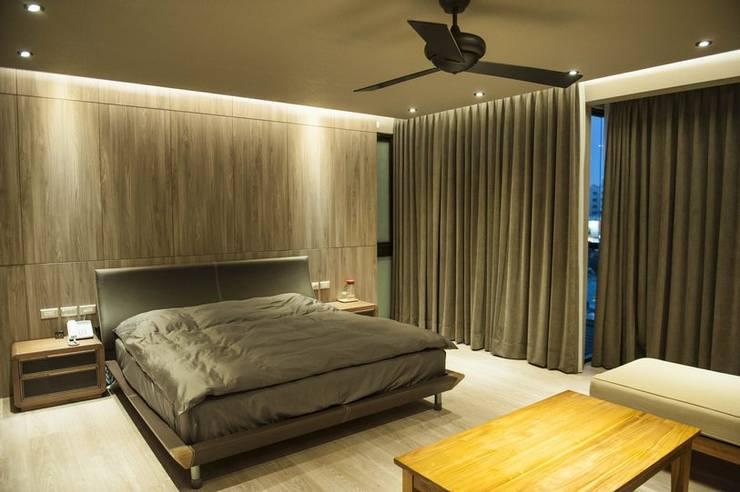 Bedroom by 勻境設計 Unispace Designs