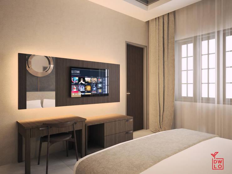 Chambre de style  par Dwello Design,