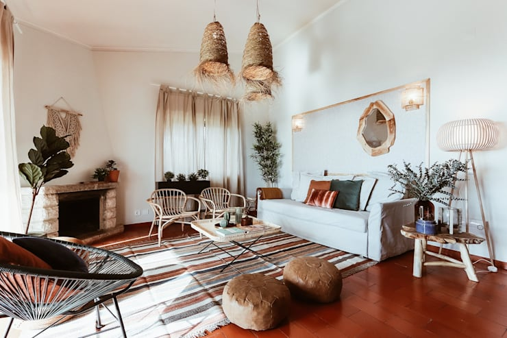 Living room by Rafaela Fraga Brás Design de Interiores & Homestyling