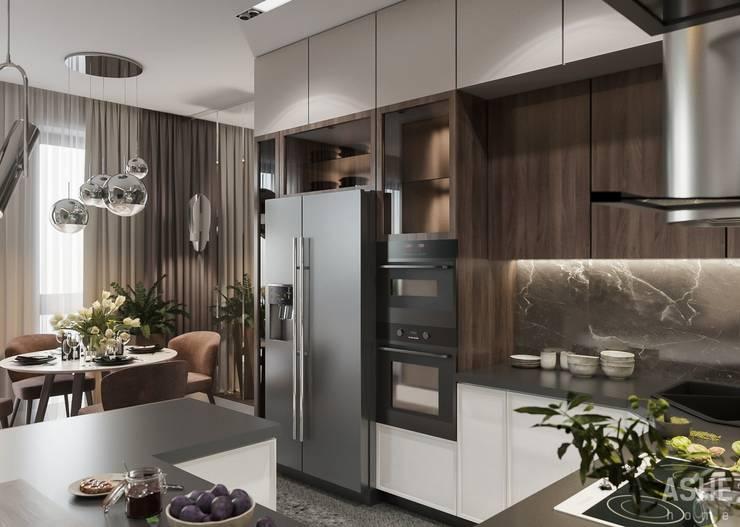 Cuisine de style  par Студия авторского дизайна ASHE Home,