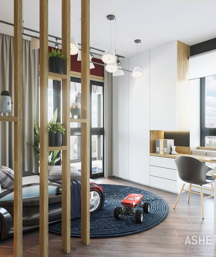 Chambre d'enfant de style  par Студия авторского дизайна ASHE Home,