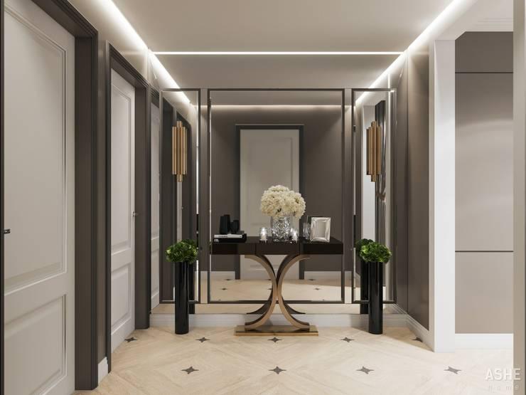 Corridor & hallway by Студия авторского дизайна ASHE Home