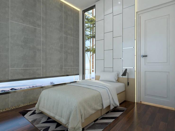 TSforTC House :  Kamar tidur anak laki-laki by Abil Architect
