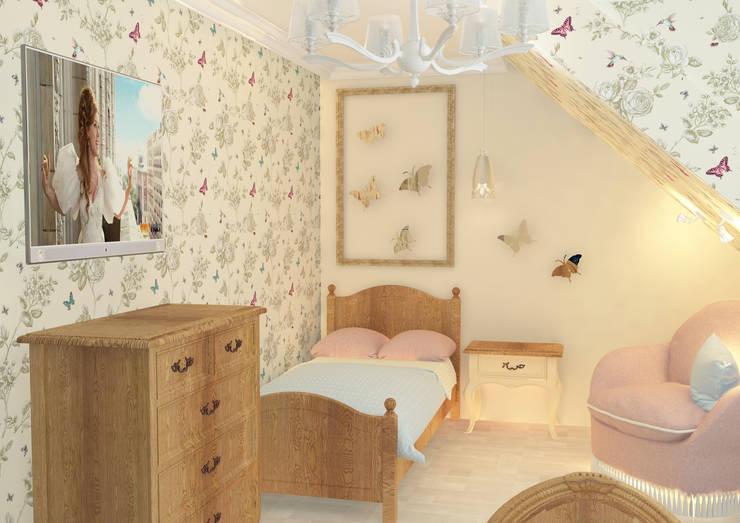 Nursery/kid's room by Дизайн интерьера в Калининграде. 4LifeDesignStudio