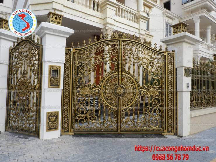 cổng nhôm đúc:  Spa by Công Ty TNHH Đúc Hợp Kim Nhôm Vi Na Cổng