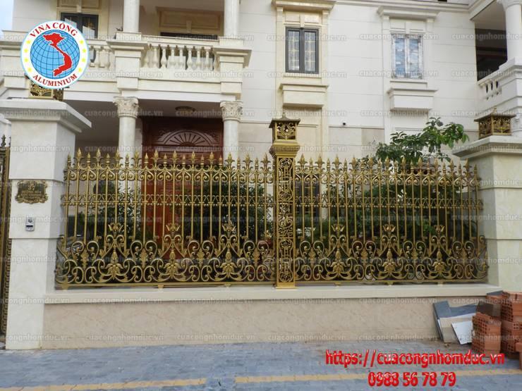 Công trình cổng nhôm đúc khu đô thị City Land:  Spa by Công Ty TNHH Đúc Hợp Kim Nhôm Vi Na Cổng