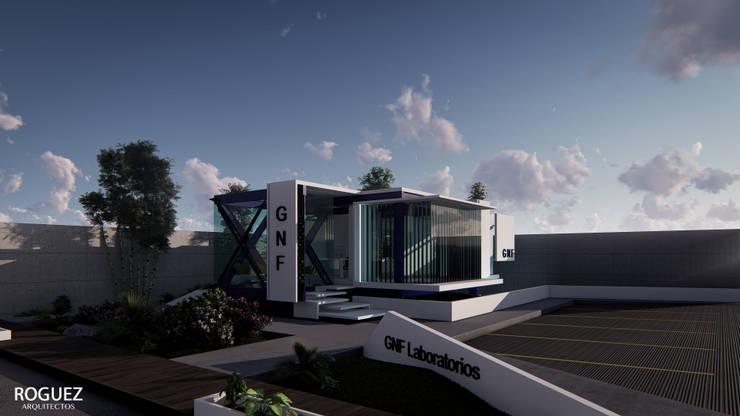 Modern clinics by Roguez Arquitectos Modern Metal