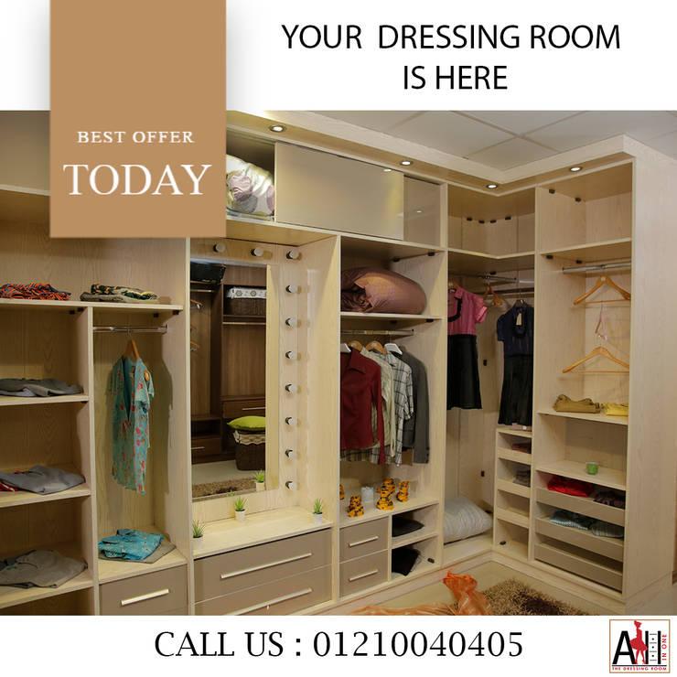 دريسنج روم -درسينج رووم -غرفة ملابس -غرف ملابس -dressing room:  المنزل تنفيذ ALL IN One