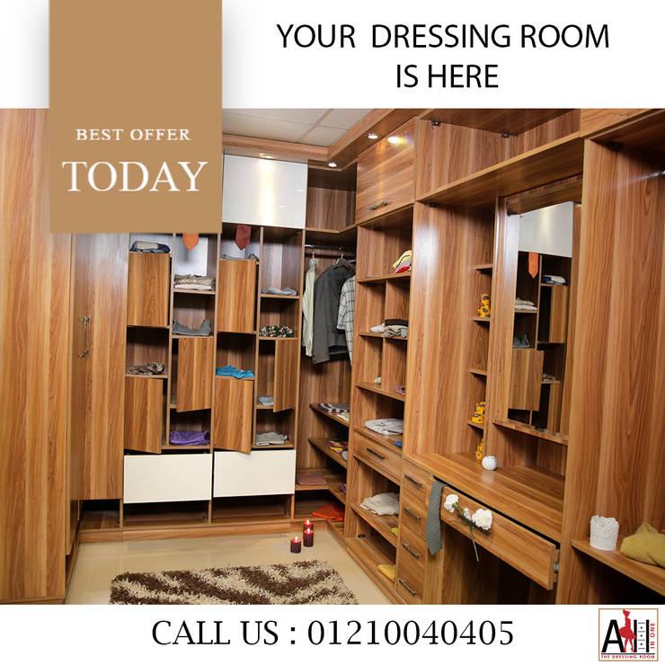 دريسنج روم -درسينج رووم -غرفة ملابس -غرف ملابس -dressing room:  غرفة المعيشة تنفيذ ALL IN One