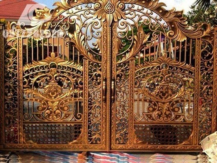 Chi tiết về cổng nhôm đúc  - Nhôm Đúc Hoàng Gia:   by CÔNG TY CỔ PHẦN SẢN XUẤT HOÀNG GIA HÀ NỘI