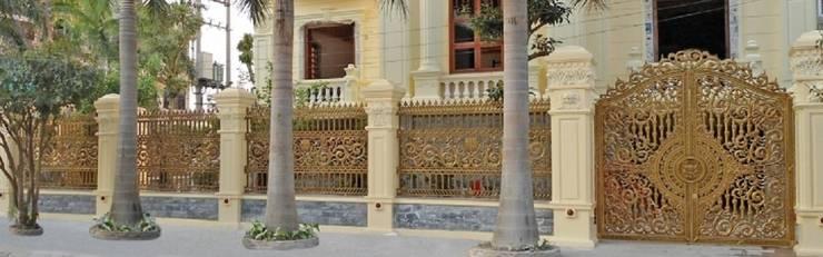 Thiết kế cửa cổng nhôm đúc:   by CÔNG TY CỔ PHẦN SẢN XUẤT HOÀNG GIA HÀ NỘI