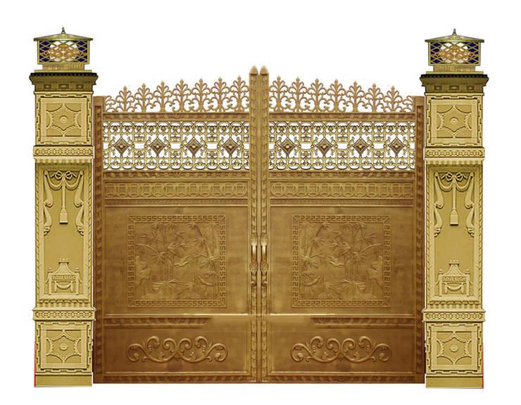 Cổng nhôm đúc kiểu Hoàng Gia:   by CÔNG TY CỔ PHẦN SẢN XUẤT HOÀNG GIA HÀ NỘI