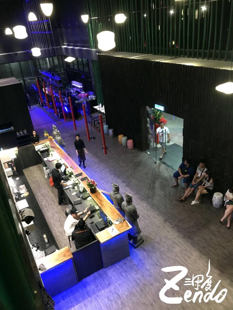 春秋戰國 – 柔佛:  餐廳 by Zendo 深度空間設計